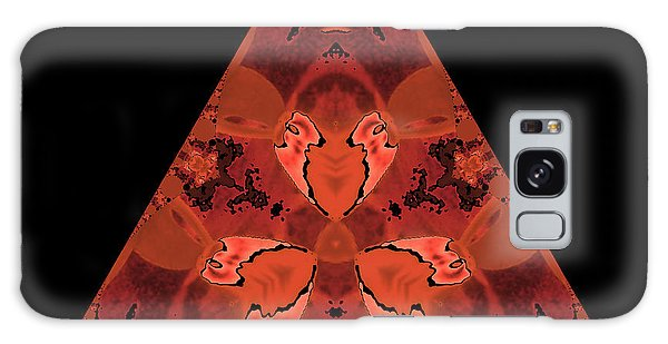 Copper Triangle Abstract Galaxy Case