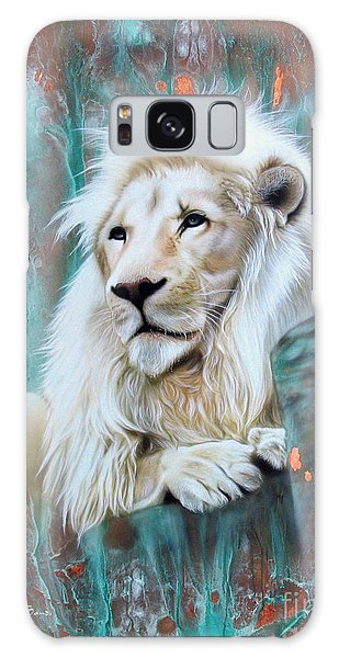 Copper White Lion Galaxy Case