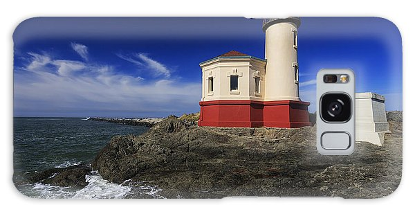 Coquille River Lighthouse 3 Galaxy Case