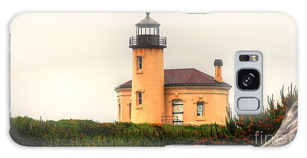 Coquille River Lighthouse Galaxy Case