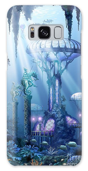 Coral City   Galaxy Case by Ciro Marchetti