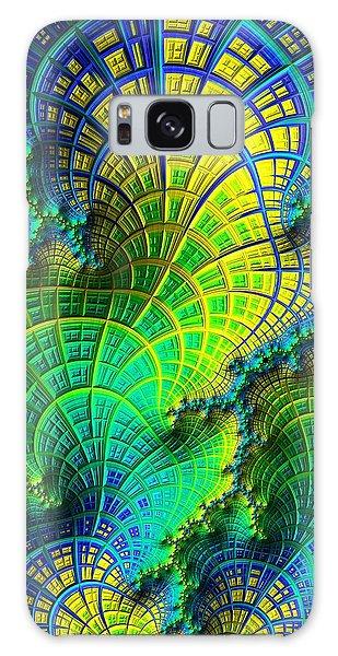 Coral Electric Galaxy Case