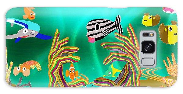 Coral Hands Galaxy Case