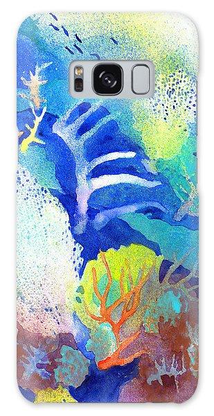 Coral Reef Dreams 3 Galaxy Case