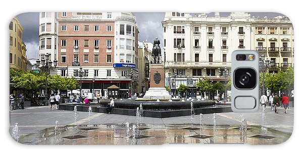 Galaxy Case featuring the photograph Cordoba Spain City Centre by Nathan Rupert