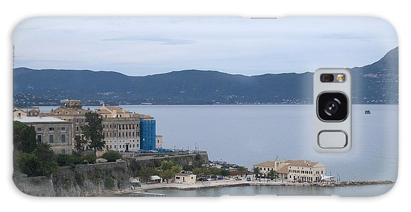 Corfu City 4 Galaxy Case by George Katechis