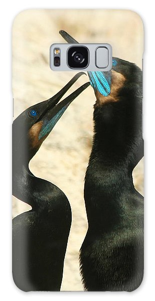 Cormorant Love Galaxy Case by Bob and Jan Shriner