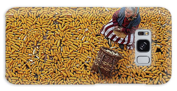 Basket Galaxy Case - Corn A??a?? by Mustafa Zengin