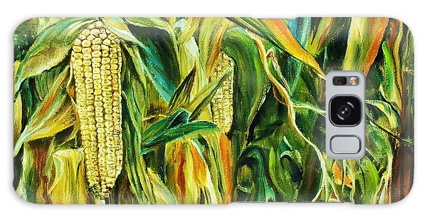 Spirit Of The Corn Galaxy Case by Anna-maria Dickinson