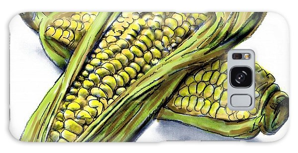 Corn Study Galaxy Case by Ric Darrell