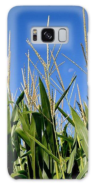 Corn Tassels And Moon Galaxy Case
