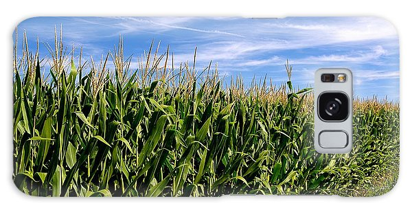 Cornfield And Clouds Galaxy Case