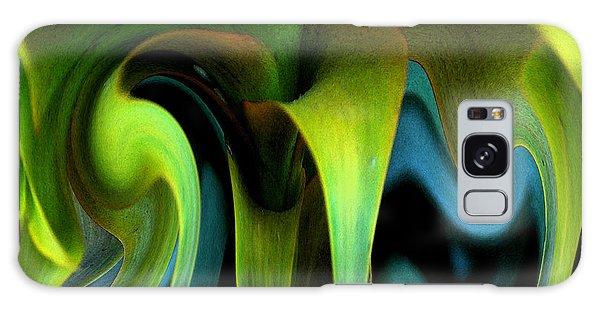 Cornflower Abstract No1 Galaxy Case