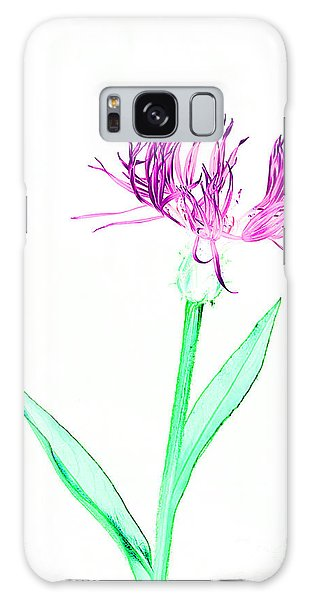 Cornflower No.3 Galaxy Case