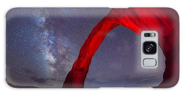 Corona Arch Milk Way Red Light Galaxy Case