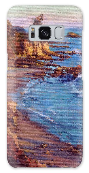 Corona Del Mar Newport Beach California Galaxy Case