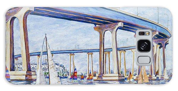 Coronado Bay Bridge Galaxy Case