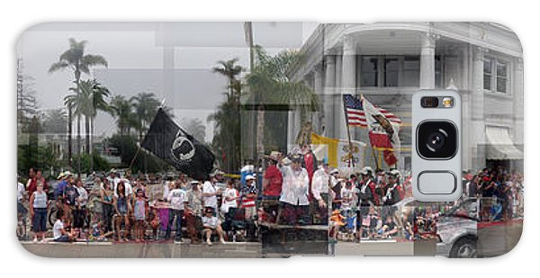 Coronado Fourth Of July Parade Galaxy Case