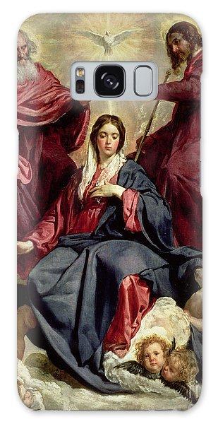 Annunciation Galaxy Case - Coronation Of The Virgin by Diego Velazquez