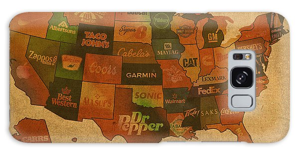 States Galaxy Case - Corporate America Map by Design Turnpike