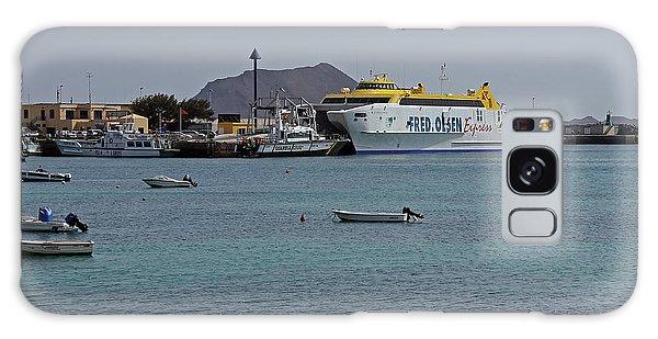 Corralejo Harbour Galaxy Case
