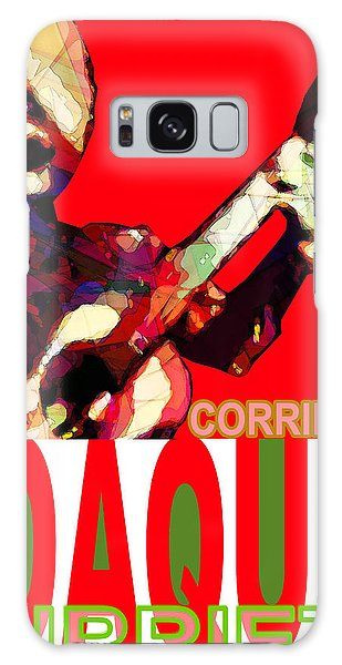 Corrido Of Joaquin Murrieta Poster Galaxy Case