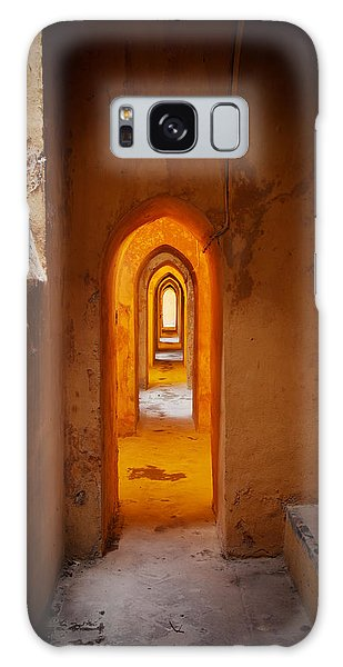 Corridor In The Real Alcazar Of Seville Galaxy Case