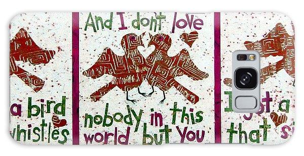 Song Birds Galaxy Case - Corrina Corrina In Red by Pamela Iris Harden