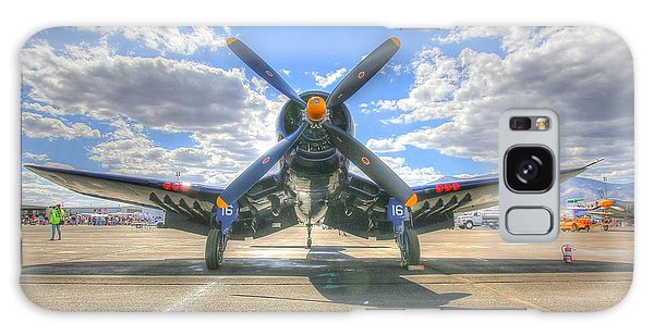 Corsair On The Flight Line At Reno Air Races Galaxy Case