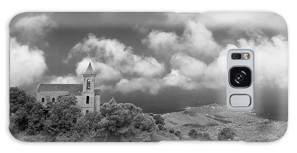 Galaxy Case featuring the photograph Corsican Church by Brad Brizek