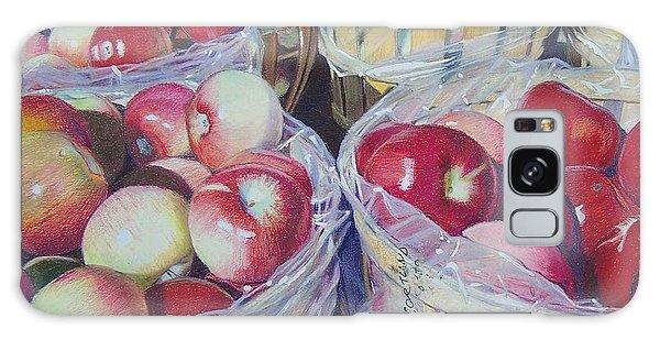 Cortland Apples Galaxy Case