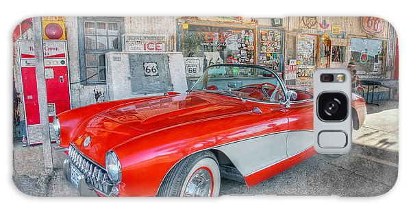Corvette At Hackberry General Store Galaxy Case by Marianne Jensen