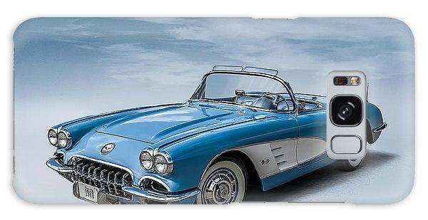 Corvette Blues Galaxy Case