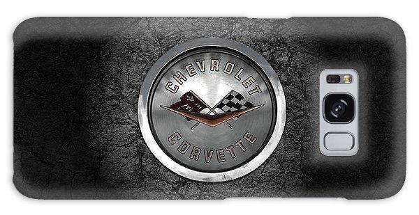 Corvette Emblem Galaxy Case