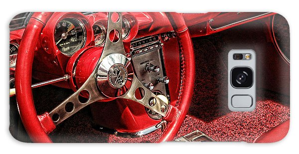 Corvette Galaxy Case by Nancy De Flon