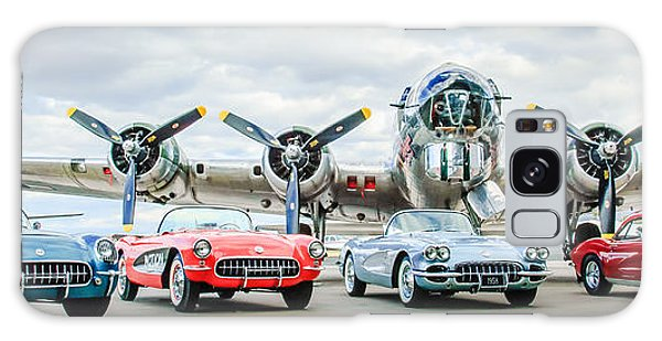 Corvettes With B17 Bomber Galaxy Case