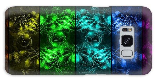 Cosmic Alien Eyes Pride Galaxy Case by Shawn Dall