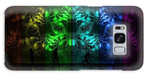 Cosmic Alien Vixens Pride Galaxy Case