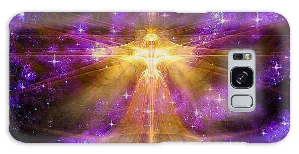 Cosmic Angel Galaxy Case by Shawn Dall