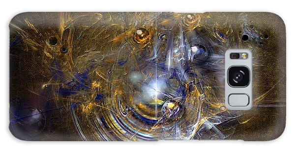 Cosmic Bubbles Galaxy Case by Alexa Szlavics
