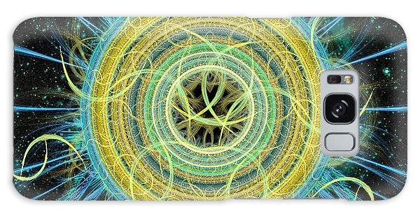 Cosmic Circle Fusion Galaxy Case by Shawn Dall