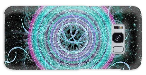 Cosmic Circle Galaxy Case by Shawn Dall