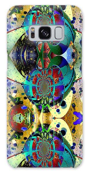 Cosmic Cuckoo Clock Galaxy Case by Robert Kernodle