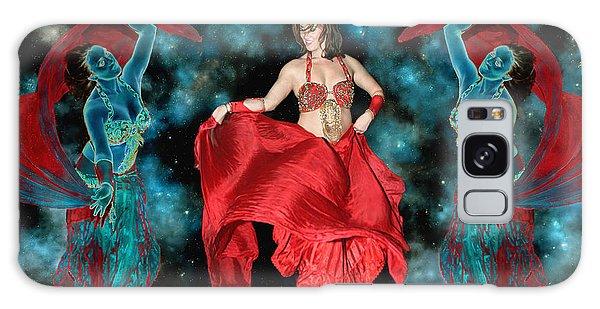 Cosmic Dance Galaxy Case by Ursula Freer