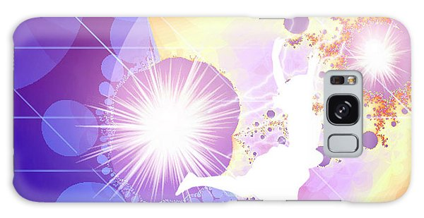 Cosmic Dance Galaxy Case by Ute Posegga-Rudel