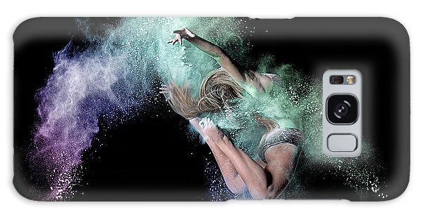 Jump Galaxy Case - Cosmic Dancer by Pauline Pentony Ma