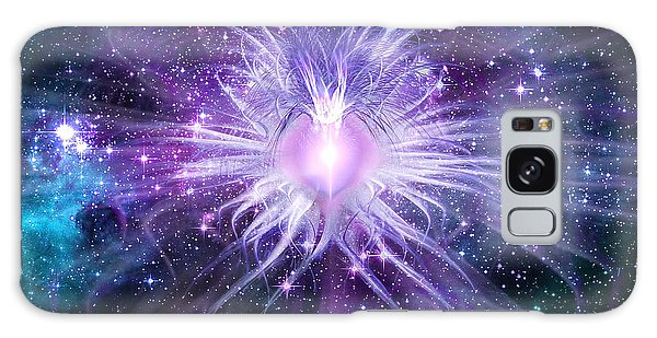 Cosmic Heart Of The Universe Galaxy Case by Shawn Dall