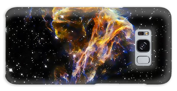 Fractal Galaxy Case - Cosmic Heart by Jennifer Rondinelli Reilly - Fine Art Photography