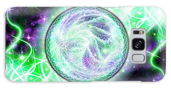 Cosmic Lifestream Galaxy Case