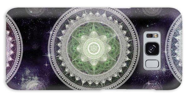 Cosmic Medallians Rgb 2 Galaxy Case by Shawn Dall
